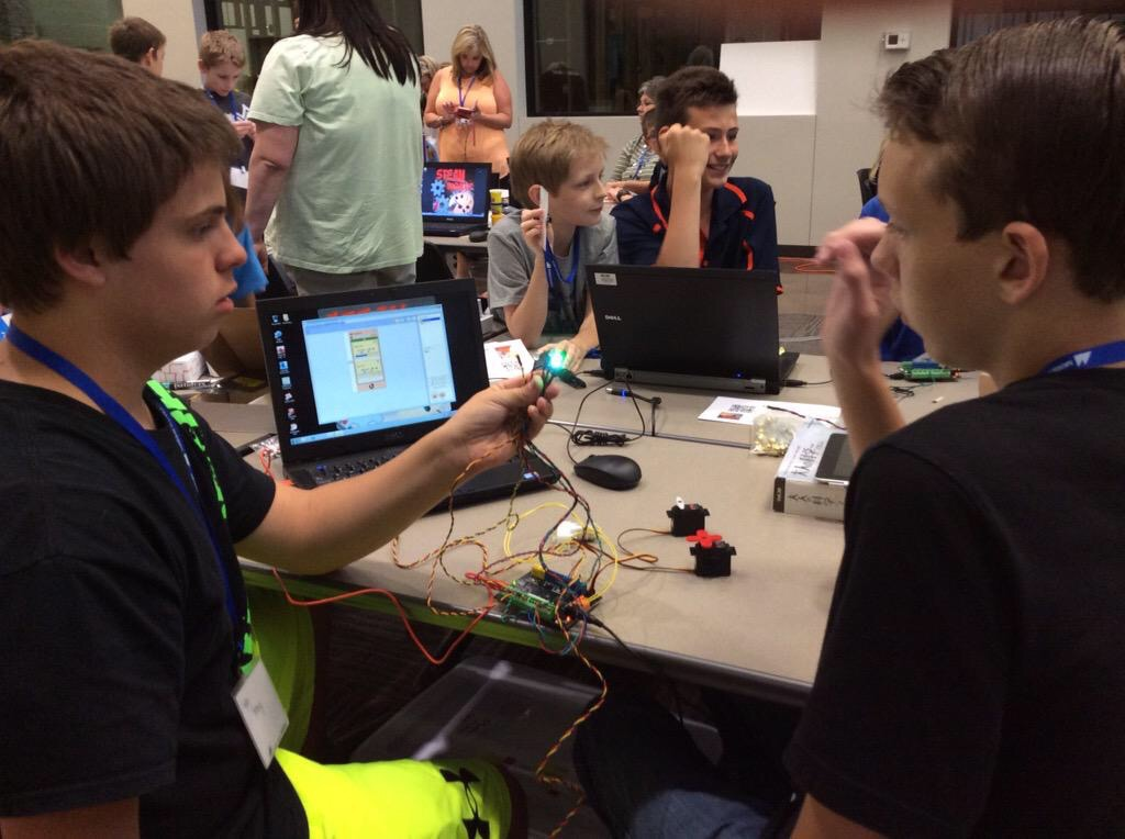 STEAMmaker Camp Stillwater 15